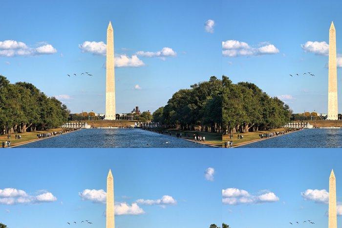 Tapeta Pixerstick Washington památník a bazén u Lincolnova památníku - Americká města
