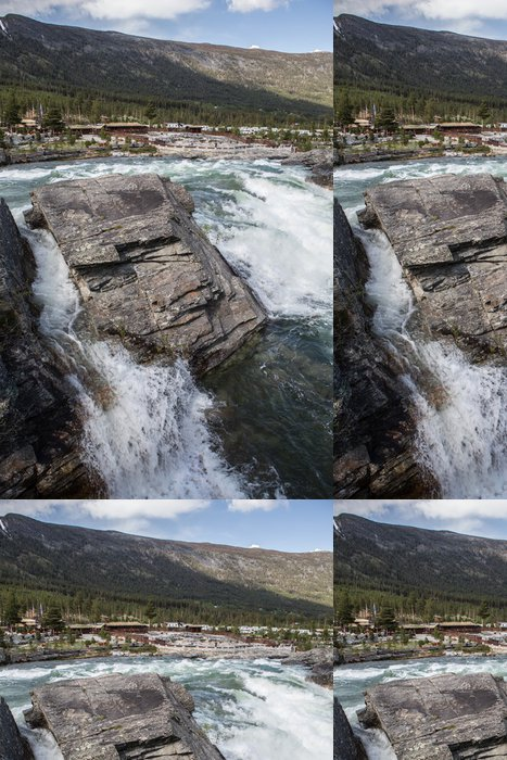 Vinylová Tapeta Wasserfall - Evropa