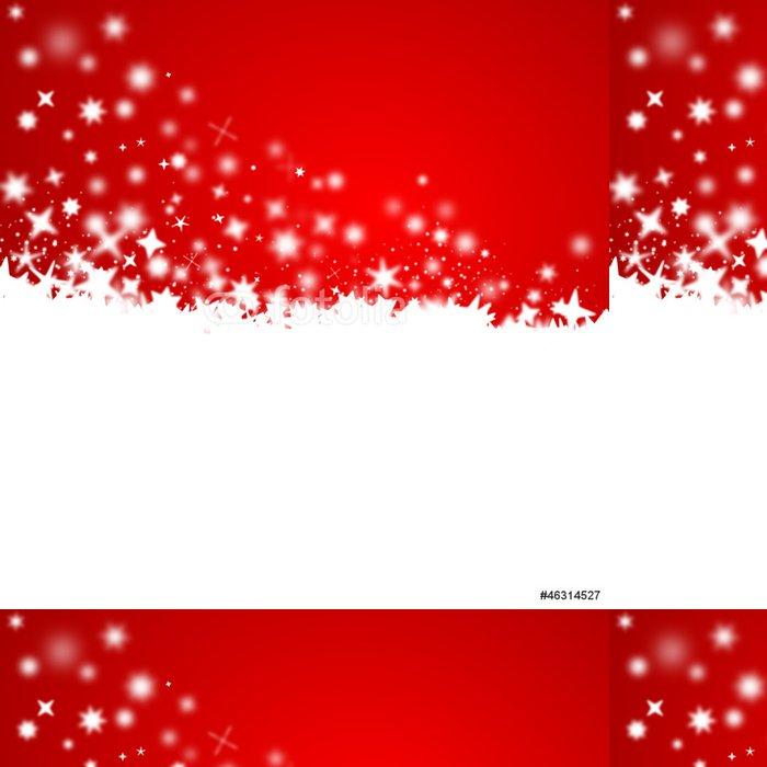Tapeta Pixerstick Weihnachtszeit, Schnee, Vektor - Mezinárodní svátky
