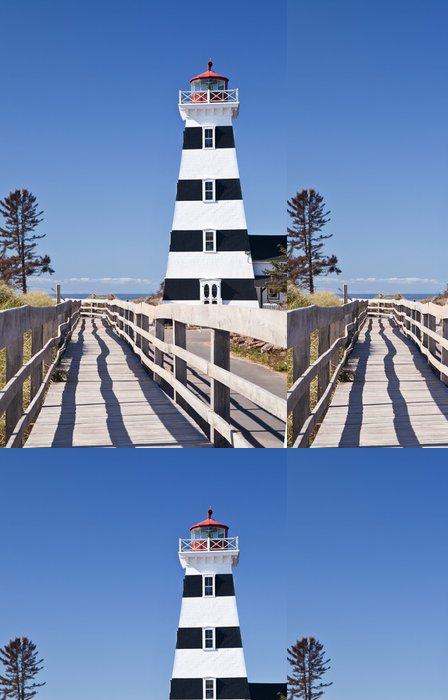 Tapeta Pixerstick West Point Lighthouse, Prince Edward Island - Amerika