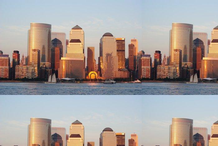 Tapeta Pixerstick West Side na Manhattanu - Americká města