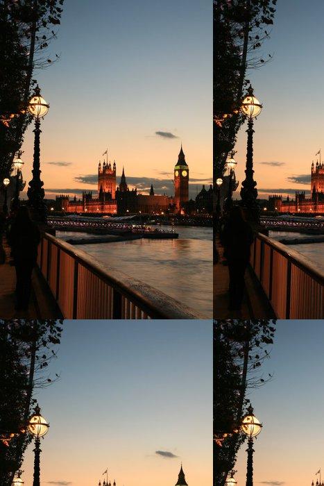 Tapeta Pixerstick Westminster za soumraku - Evropská města