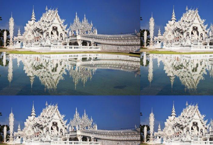 Tapeta Pixerstick White chrám - Asie