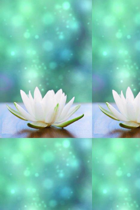 Tapeta Pixerstick White water lilly květina - iStaging