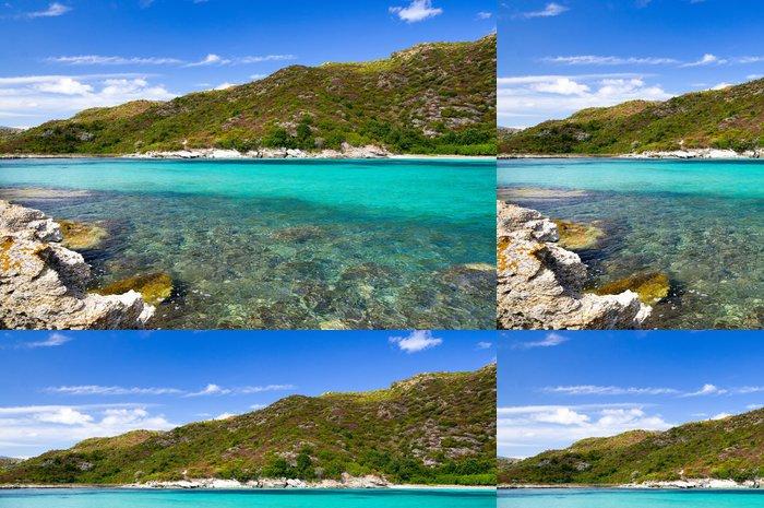 Tapeta Pixerstick Wild Korsický krajina - Evropa