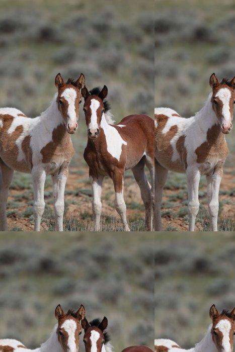 Vinylová Tapeta Wild Mustangs McCullough Peak - Amerika