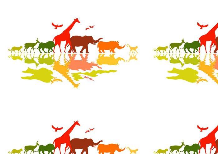 Tapeta Pixerstick Wildlife Safari - Savci