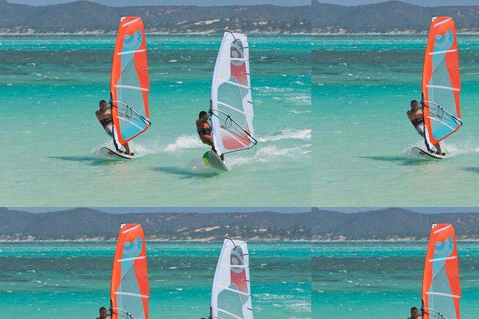 Tapeta Pixerstick Windsurf v laguně - Extrémní sporty