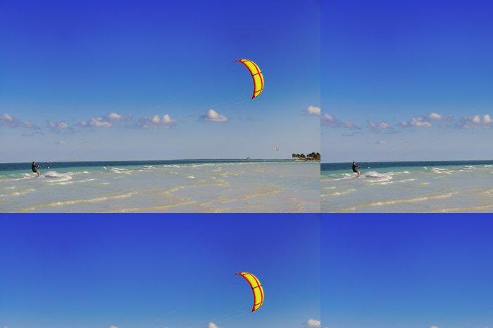 Tapeta Pixerstick Windsurfing - Voda