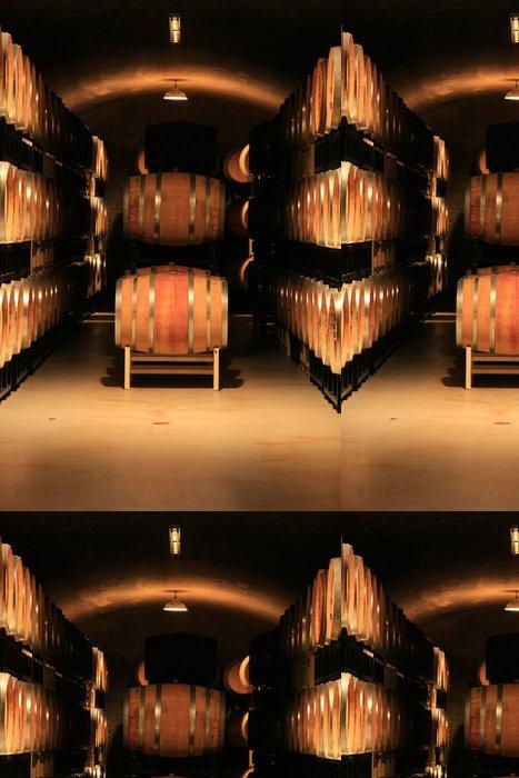 Tapeta Pixerstick Wine cellar - Alkohol