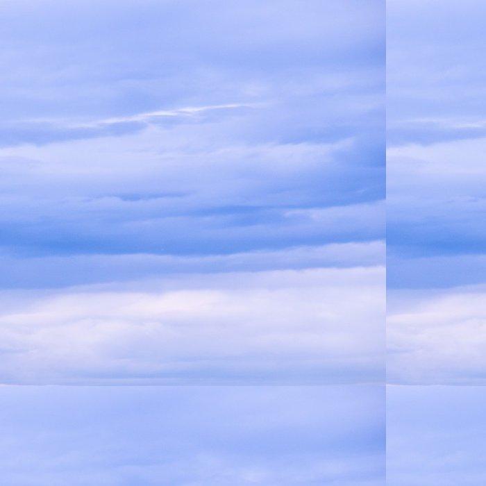 Tapeta Pixerstick Wolkendecke 1x1 - Nebe