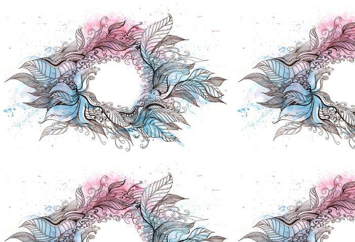 Tapeta Pixerstick Wreath - Přírodní krásy