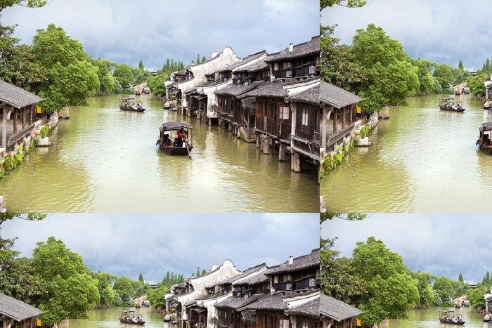 Tapeta Pixerstick Wuzhen, Čína - Asie