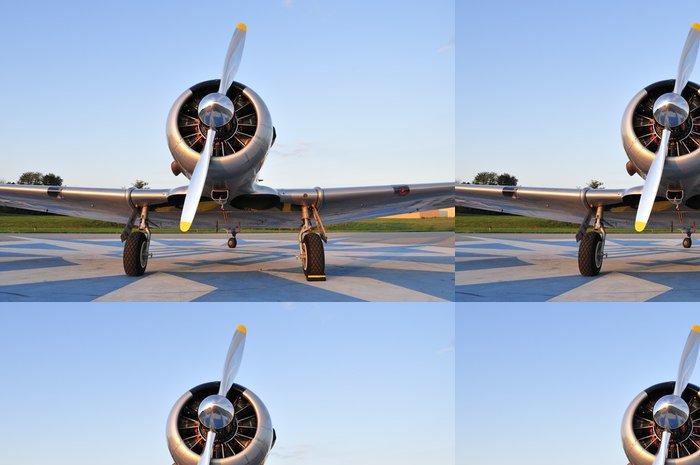 Tapeta Pixerstick WWII trenér letouny - Vzduch