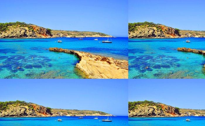 Tapeta Pixerstick Xarraca Cala, Ibiza, Islas Baleares, Španělsko (Europe) - Témata