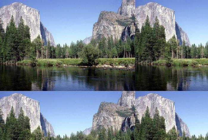 Vinylová Tapeta Yosemite národní park - Hory