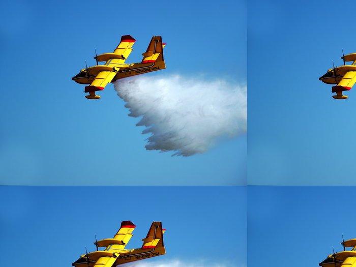 Tapeta Pixerstick Záchranné letadlo - Vzduch