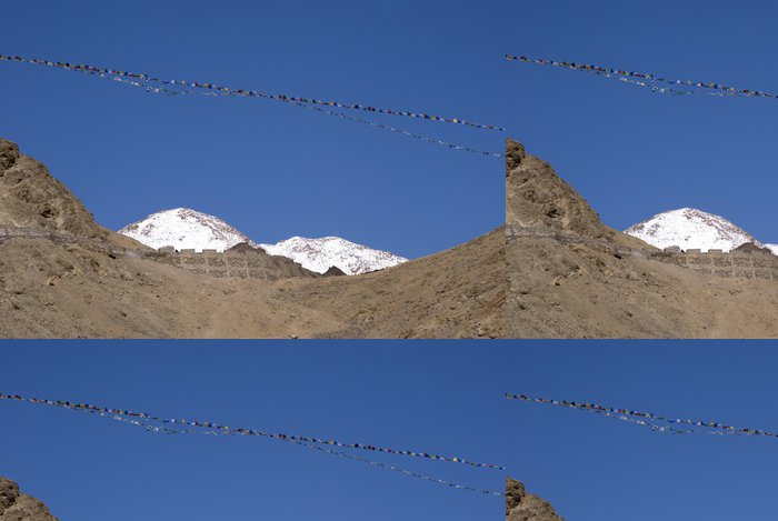 Tapeta Pixerstick Zanskar rozsah, Ladakh, Indie - Asie