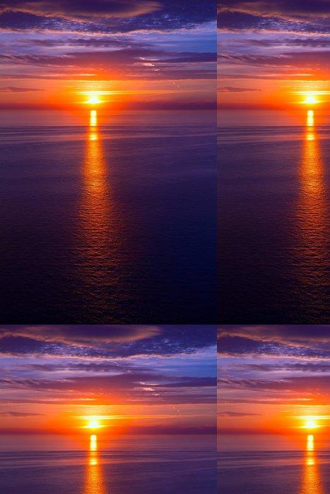 Vinylová Tapeta Západ slunce nad Středozemním mořem - Nebe