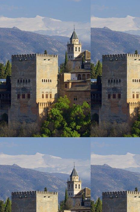 Tapeta Pixerstick Západ slunce v Alhambra - Evropa
