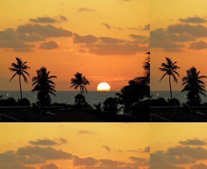 Vinylová Tapeta Západ slunce, Varadero, Kuba - Amerika