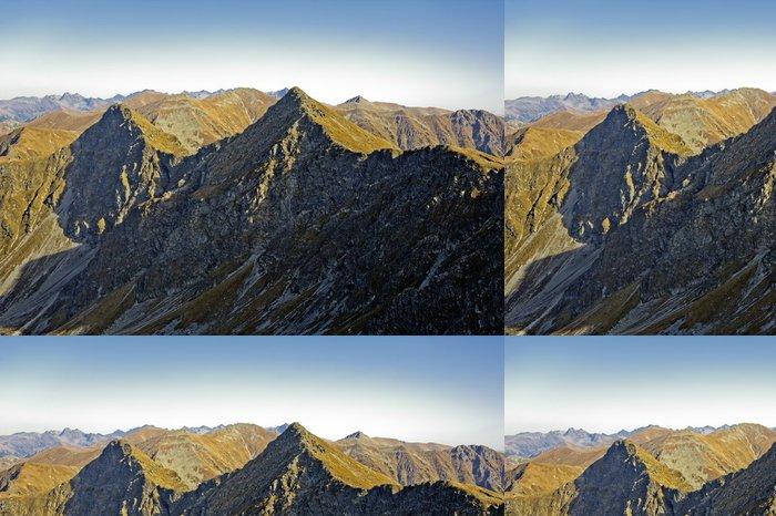 Tapeta Pixerstick Západní Tatry (Roháče), nebezpečné Tri kopy vrchol - Evropa