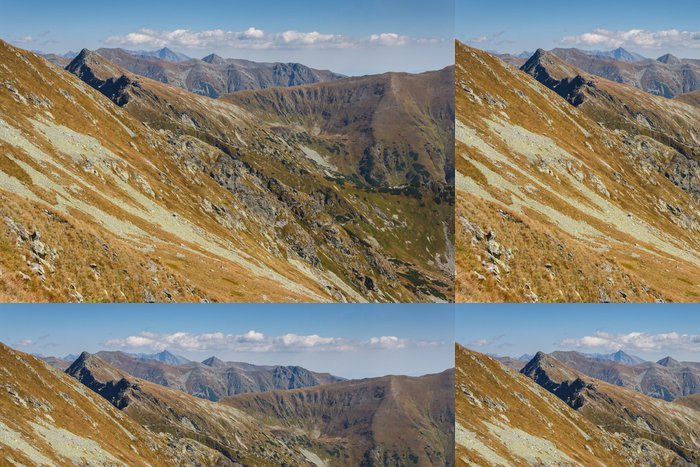 Tapeta Pixerstick Západní Tatry vrcholy - Témata