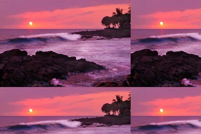 Tapeta Pixerstick Zasněný Havajská Sunset - Ostrovy