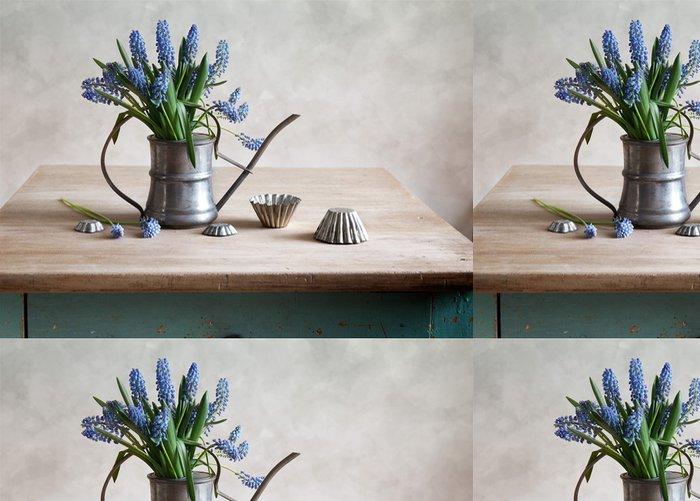 Tapeta Pixerstick Zátiší s hyacint - Domov a zahrada