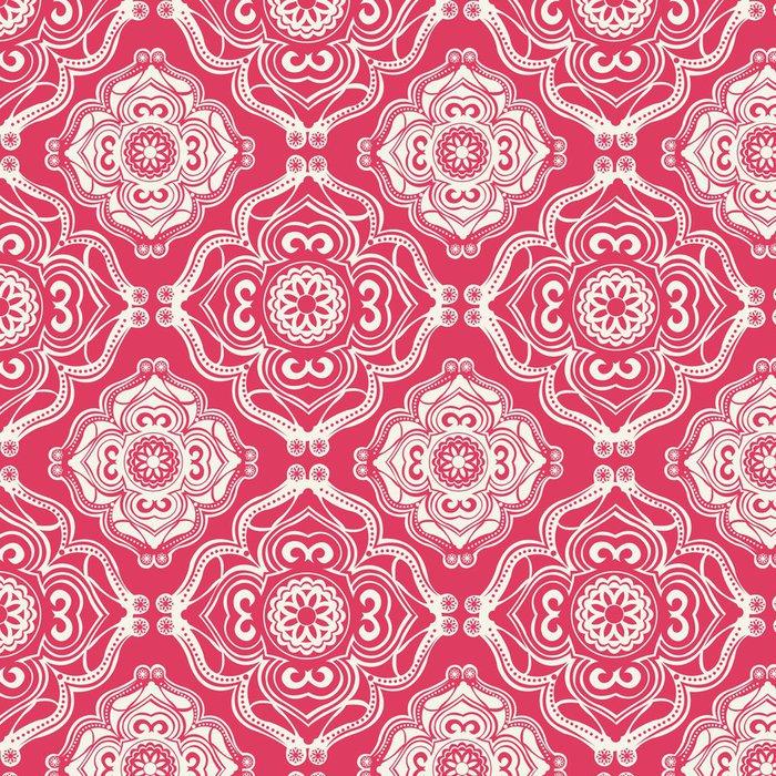 Vinylová Tapeta Zdobené bezproblémové vzor, dekorativní vektoru tapety - Prázdniny