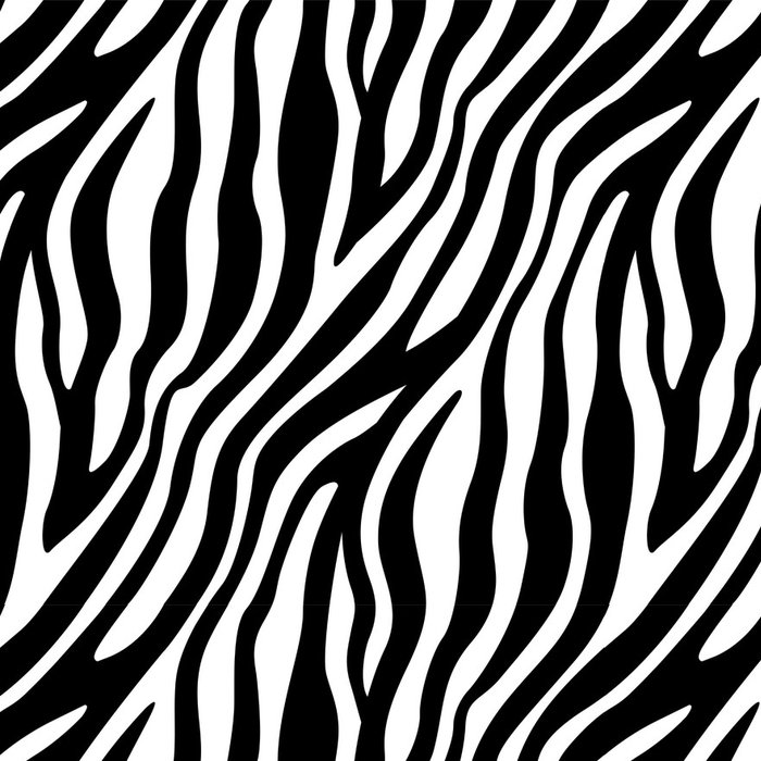 Tapeta Pixerstick Zebra Stripes bezešvé vzor - Styly