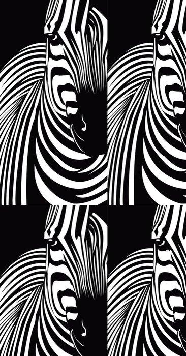 Tapeta Pixerstick Zebra - Savci