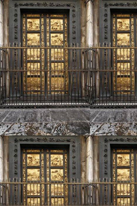 Vinylová Tapeta Zejména z dveří Baptisterium San Giovanni Florenc - Prázdniny