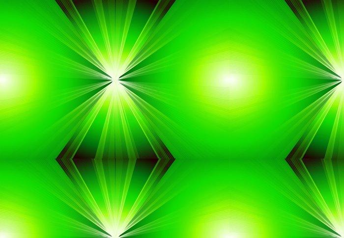 Tapeta Pixerstick Zelená abstraktní roztržení pozadí vektor s kopií vesmíru - Pozadí