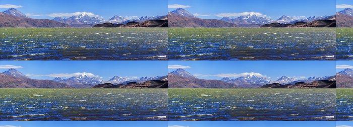 Tapeta Pixerstick Zelená laguna (Laguna Verde), vulkán Pissis, Catamarca, Argentin - Amerika