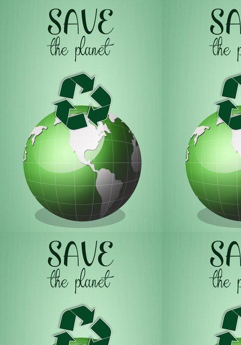 Tapeta Pixerstick Zelená země pro zachránit planetu - Ekologie