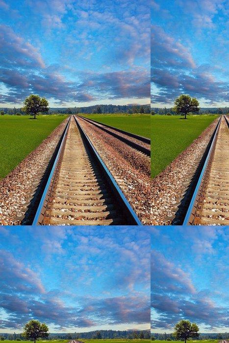 Tapeta Pixerstick Železnice v oboru - Jiné