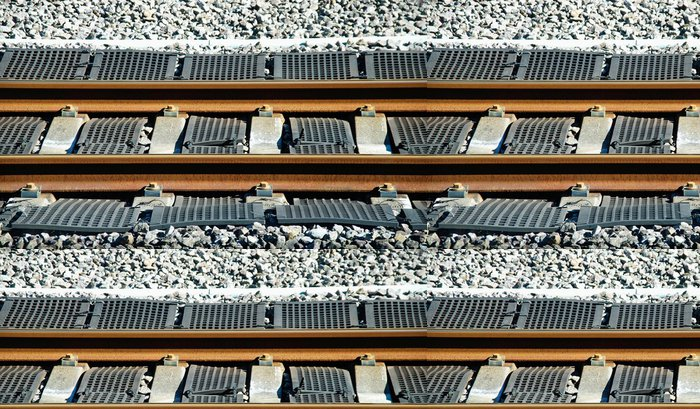 Tapeta Pixerstick Železnice - Asie