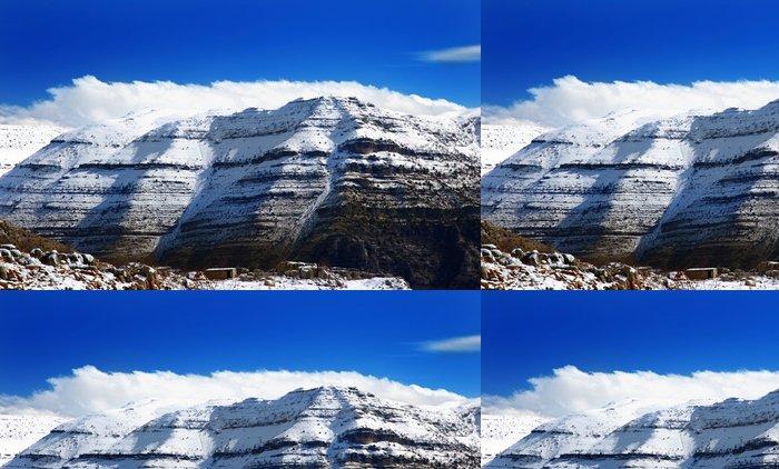 Tapeta Pixerstick Zimní krajina - Roční období