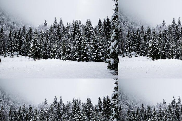 Tapeta Pixerstick Zimní období - Roční období