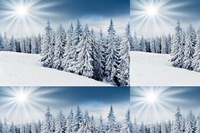 Tapeta Pixerstick Zimní stromy - Styly
