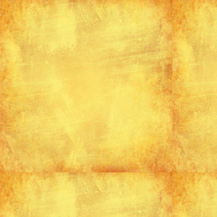Tapeta Pixerstick Žlutá grunge texturou abstraktní pozadí pro vícenásobné použití - Pozadí