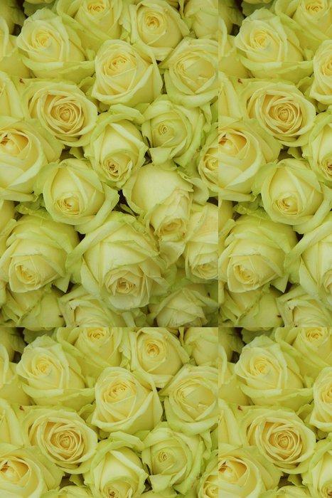 Tapeta Pixerstick Žluté růže ve svatební uspořádání - Slavnosti