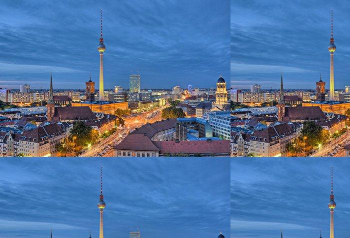 Vinylová Tapeta Zobrazit nad kapitálovým Berlín - Evropská města