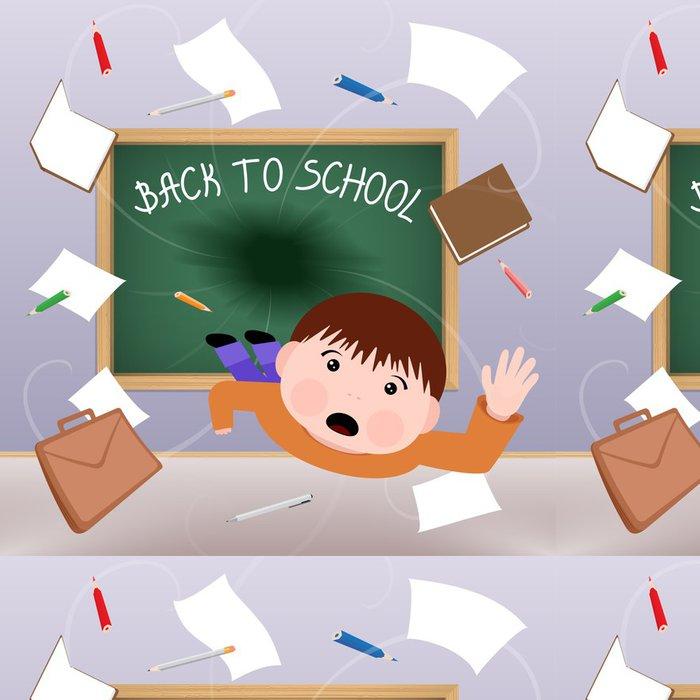 Tapeta Pixerstick Zpátky do školy - Osud