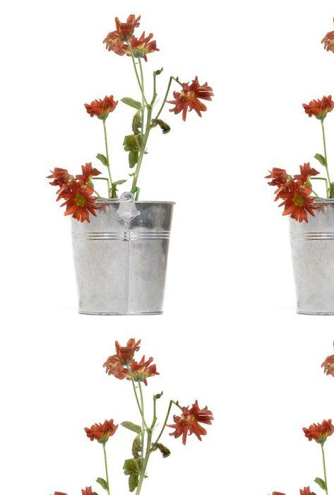 Tapeta Pixerstick Zvadlých květ plantážníka - Savci