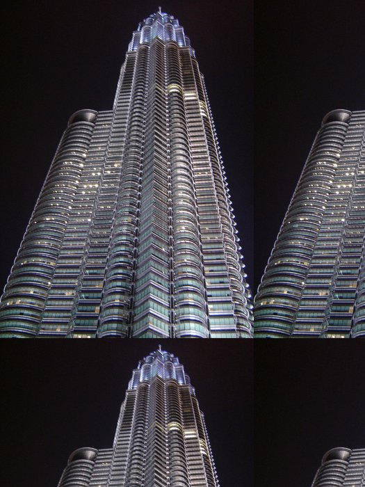 Tapeta Pixerstick Zwillingsturm Kuala Lumpur - Obchody