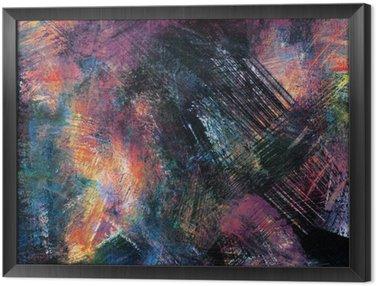 Tavla i Ram Abstrakt bakgrunder