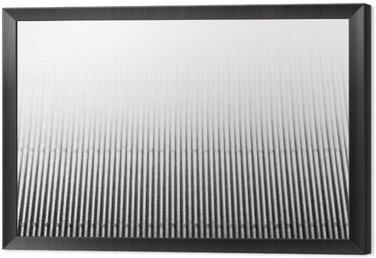 Tavla i Ram Abstrakt minimalistisk vit randig bakgrund med vertikala linjer och rubrik. Kopiera utrymme. Texturen.