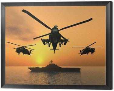 Tavla i Ram Apache Helikopter
